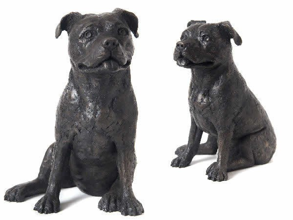 Cast Resin - Staffie